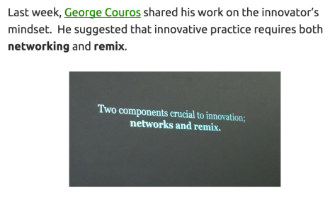 The Innovator's Mindset by George Couros: http://georgecouros.ca/blog/archives/5715