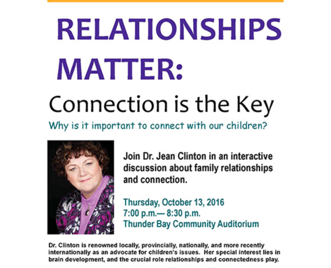 An Evening with Dr. Jean Clinton – @drjeanforkids